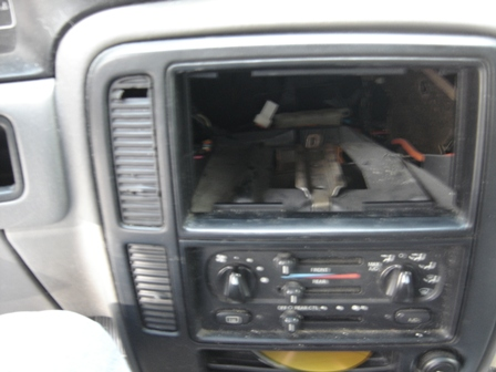bob s blog after the radio is out remove all the nobs from the hvac controls put somewhere safe
